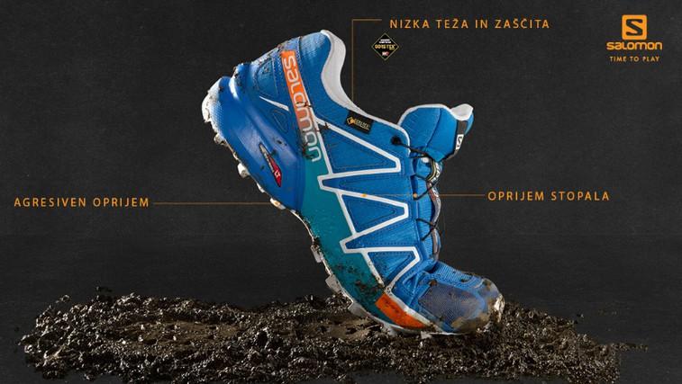 Ste pripravljeni na 4. generacijo tekaških čevljev Salomon Speedcross? (foto: Salomon)