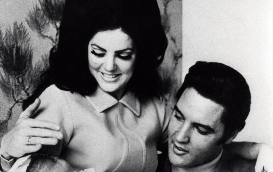 Ljubezenska zgodba: Elvis in Priscilla Presley (foto: Profimedia)