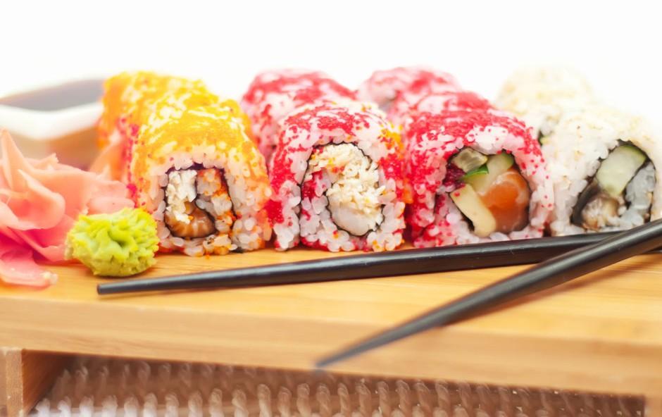 Suši – zvezda japonske kuhinje na vaši mizi (foto: Profimedia)