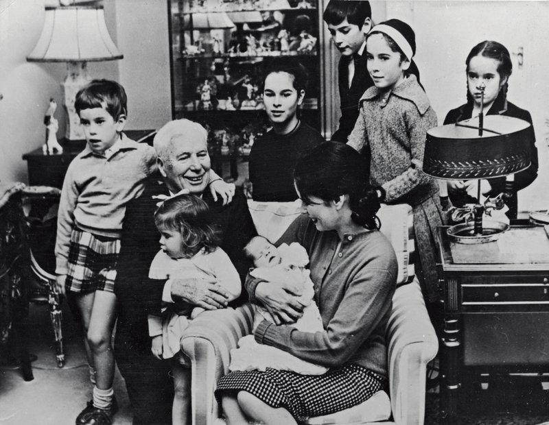 Charlie Chaplin in Oona