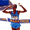 Catherine Ndereba,  svetovni vrh krojijo vzhodnoafriške tekačice.