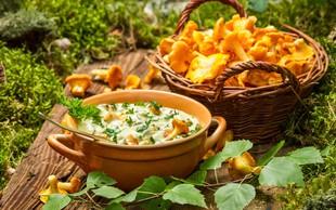 Recept: Pirine testenine z lisičkami