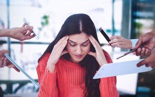 Kam lahko privede trajni stres