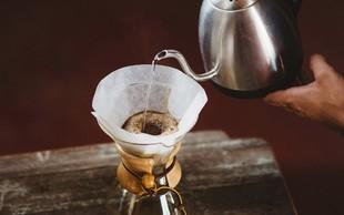 Filtriranje kave - za najboljšo aromo