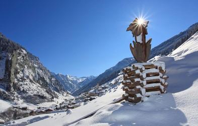 Sanjska snežna dežela Großarltal