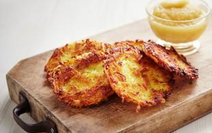 Rosti: Krompirjeve polpete malo drugače