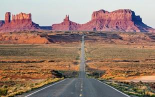 Iz Los Angelesa v Las Vegas in deželo Navajo Indijancev - divje zabave in puščavski veter