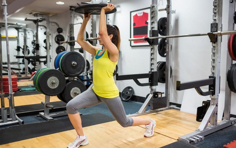 Vse dobre strani vadbe z utežmi (foto: Profimedia)