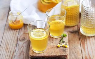Recept proti depresiji: Topla limonada s kurkumo