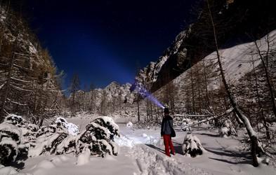 Foto: Čarobna noč in jutro na Kredarici