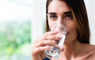 Ali spijete dovolj vode?