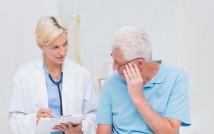 Rak prostate: Če bi živeli še dlje, bi ga imel vsak moški