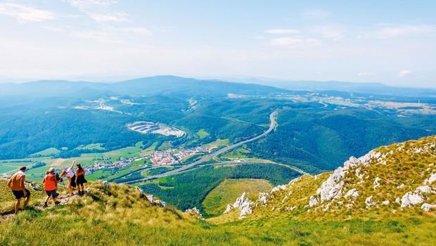 Ideja za izlet: Angelska gora in čudovit razgled z Otliškega okna (foto: Miran Krapež)