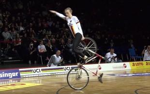 Umetnostno kolesarjenje: Poglejte, kaj pomeni obvladati kolo!