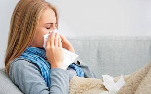 5 napak, ki jih delate, kadar ste prehlajeni