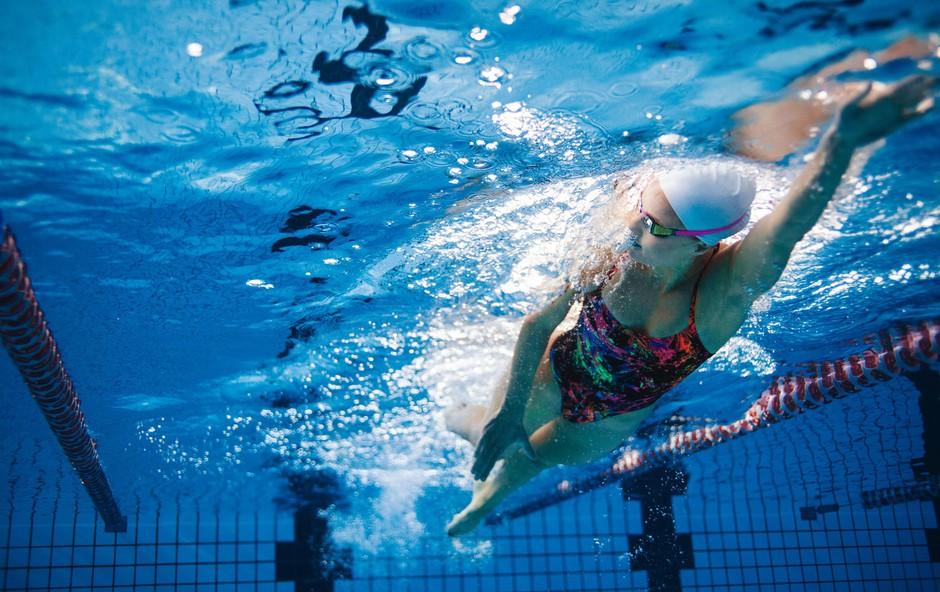 Trening v bazenu: Kravl - kaj je pomembno in kako vadimo (foto: Profimedia)