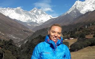 Andreja Sterle Podobnik: Slovenka, ki je na teku Everest Trail Race prepričljivo zmagala (in postala Slovenka leta 2016)!