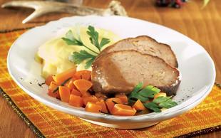 Ideja za kosilo ali večerjo: Divjačinska mesna štruca