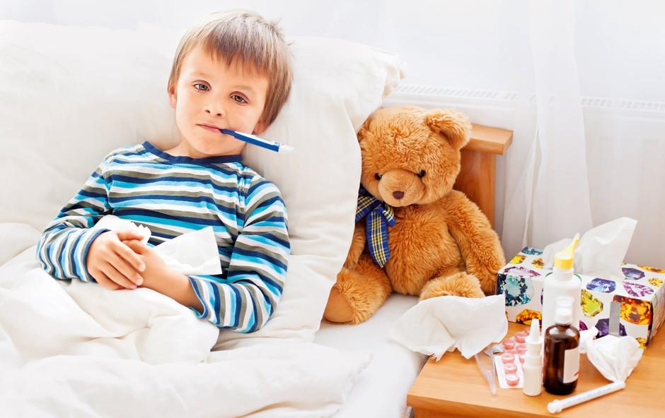 Prepoznajte znake: Ima otrok gripo ali prehlad? (foto: Shutterstock)