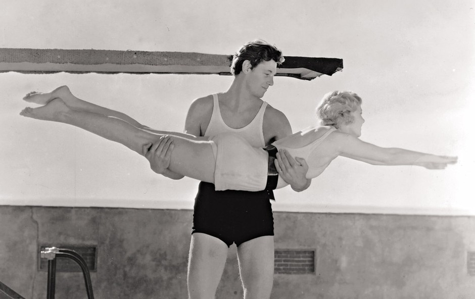 Johnny Weissmuller - legenda plavanja in slavni filmski Tarzan (foto: Profimedia)