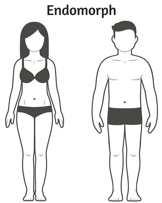 Telesni tip: endomorf