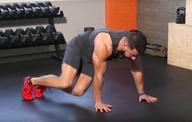 Trening za trebušne mišice, ki ga sestavljata le dve vaji