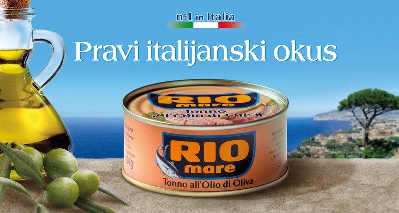 Rio Mare tuna v oljčnem olju