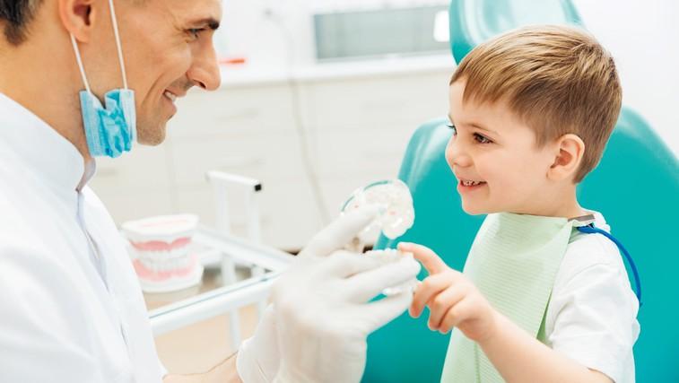 Kaj lahko naredimo, da bo naš otrok imel zdrave zobe? (foto: Shutterstock.com)