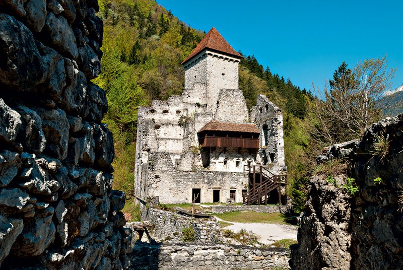 Grad Kamen, Lambergova pot, Begunje na Gorenjskem