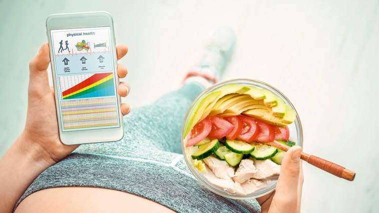 Mobilne aplikacije za zdravo in vitko življenje (foto: Shutterstock.com)