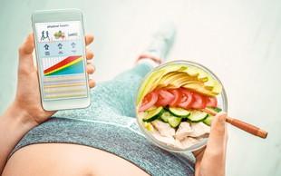 Mobilne aplikacije za zdravo in vitko življenje