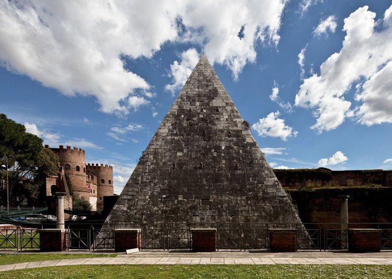 Rim, piramida