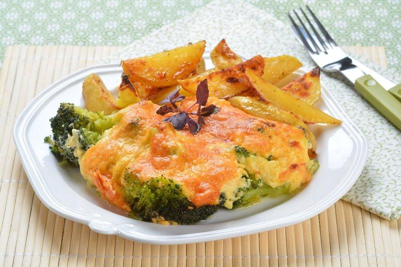 Zapečen brokoli