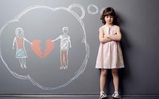 Kaj se dogaja z otroki, ko se starši ločijo