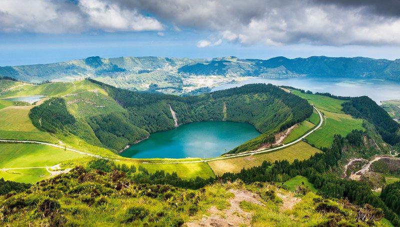 Lagoa de Santiago, Azori