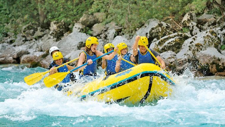 Ideja za izlet: Rafting po smaragdni lepotici (foto: Profimedia)