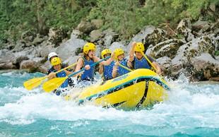 Ideja za izlet: Rafting po smaragdni lepotici