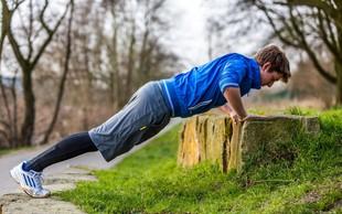 Trening, ki ga lahko naredite kjerkoli v naravi