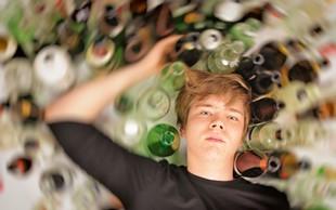 Alkohol: Moški pogosteje hospitalizirani kot ženske