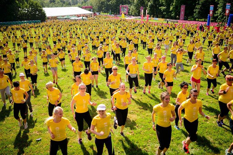 Zadnjo soboto v maju bodo ljubljanski park Tivoli znova napolnile energične tekačice iz vse Slovenije