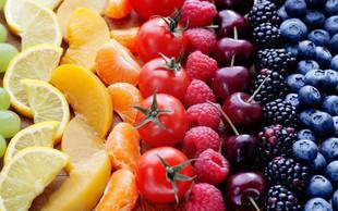 Zakaj moramo jesti različne barve sadja in zelenjave?