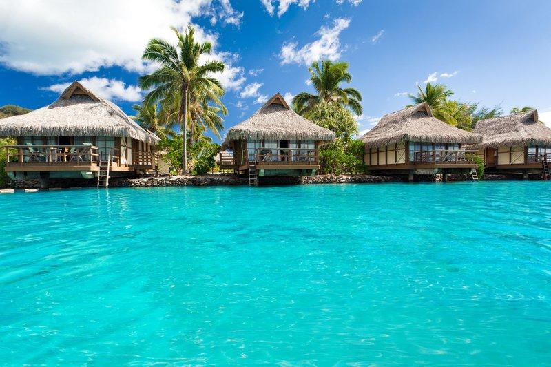 Maldivi, bungalovi