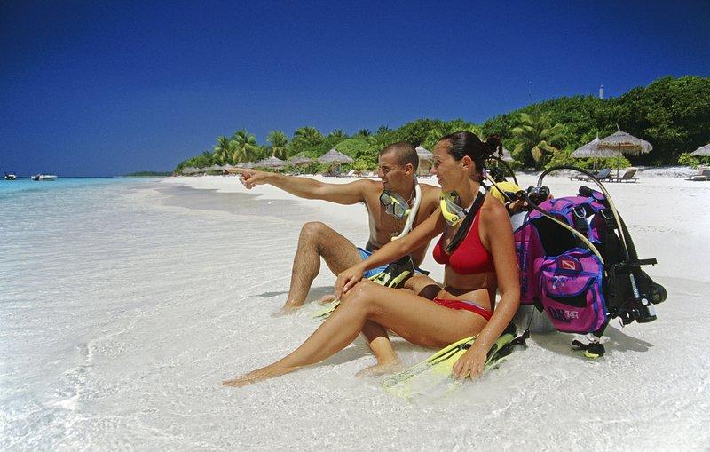 Maldivi, potapljanje