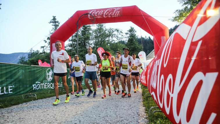 Coca-Cola v olimpijskem duhu že šestič podprla Nočno 10ko (foto: Matic Bajželj)