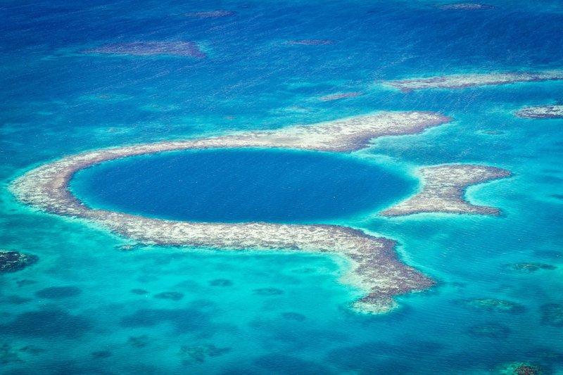Belize koralni greben, Srednja Amerika