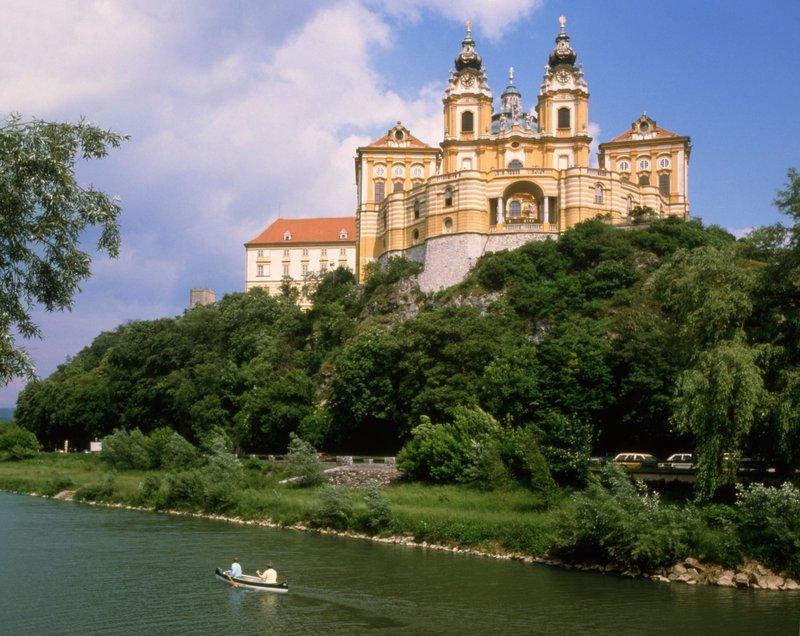 Samostan Melk, Avstrija
