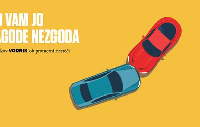 Voznikov vodnik ob prometni nesreči – Zagotovite si brezplačen izvod