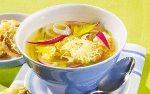 Francoska čebulna juha