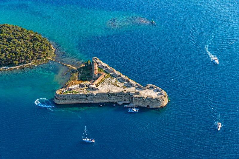 Utrdba Sv. Nikolaja, Šibenik, Hrvaška