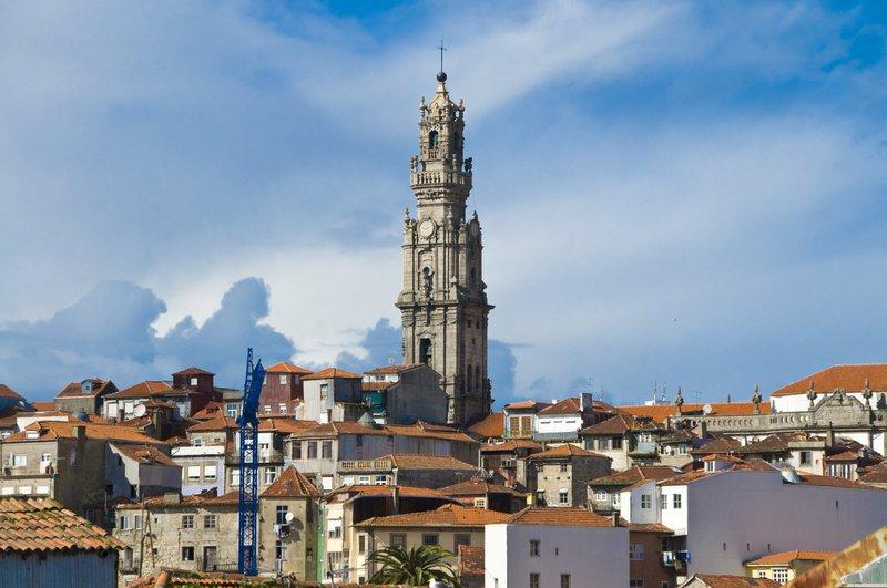 Torre dos Clerigos, Porto, Portugalska